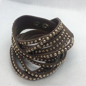 4 for $12: Leather Wrap Bracelet